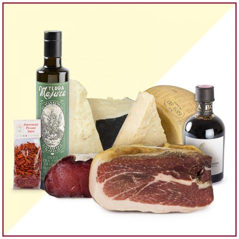bundle cold cuts oil parmigiano pecorino chili